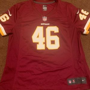 Large women's or boys red skins jersey